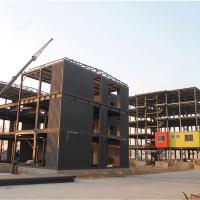 Buy cheap Factory Construction Frame Prefabricated Steel Structure Luxurious Prefab Villa from wholesalers