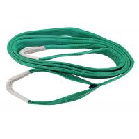 Buy cheap One Way Belt Green Color Webbing Lifting Slings Flat Eye Web Sling TUV Certification from Wholesalers