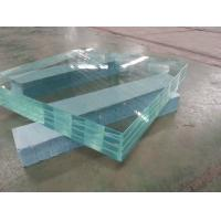 China Cheap Price Warehouse Laminated Glass For Indoor Building Construction factory