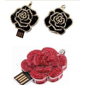 China heart shape Jewellery USB flash drive factory