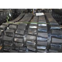 China 350 * 52.5 * 104mm Track Loader Rubber Tracks For Takeuchi Tb035 Drilling Machine factory