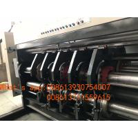 China Carton Manufacturing Machine Flexo Printer Slotter Die Cutter With Folder Gluer Bundler factory