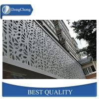 China Perforated Carved Custom Aluminum Panels For Decoration Wall 1100 5052 5005 factory