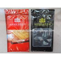 Buy cheap Resealable Plastic Cigar Bags With Humidity Controlled System For Nicaragua Cigars / Dominica Cigars from Wholesalers