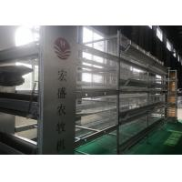 China High Tech Feeding Chicken Farm Poultry Equipment Q235 Low Carbon Steel Wire Material factory