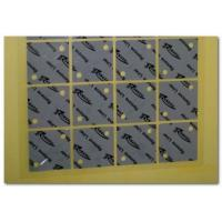 Light Gray Adhesive Interface Thermal Conductive Pad For Heatsink Cooling Varies Thickness