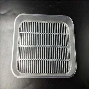 Reliable Custom Plastic Molding Flexible PP Soap Holder TS16949 Certification