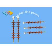 Buy cheap 42kV/70kN Red Silicone Rubber Insulators for Overhead Transmisson Line from Wholesalers