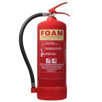 Multi Purpose 6L Foam Fire Extinguisher For Paper / Wood / Textiles Fire