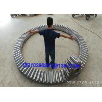 Buy cheap Eccentric Heavy Duty Straight Bevel Gears Wheels , Large Diameter from Wholesalers