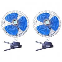 China Blue And Silver Automotive Cooling Fans / Metal And Plastic Electric Radiator Fan factory
