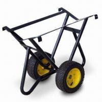 China Drum Vehicle with 13-inch x 5.00-6 Pneu Wheel and Steel Rim for Powder-coated Finish factory
