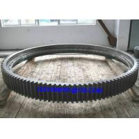 Buy cheap Large Diameter Stainless Steel Rotary External Kiln Ring Gears  With CITIC from Wholesalers