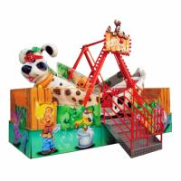 Buy cheap Small Kids Pirate Ship Ride 16 Riders With Cute Puppy Cockpit Height 4m from wholesalers