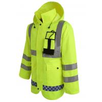 Buy cheap Hoody Raincoat with Reflective Tape Cheap Workwear for Rain Day from wholesalers