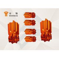 China Fast Penetration Borehole Drilling Tools , Button Type Coal Mining Bits factory