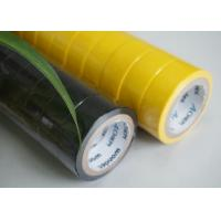Buy cheap UL And CSA Flame Retardant Tape Heat Resistant Yellow Electrical Tape from Wholesalers