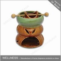 Buy cheap Ceramic Colorful Scented Oil Burner With Common Packaging / High End Gift Box from Wholesalers