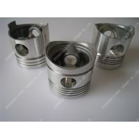 Buy cheap Piston Single Cylinder Diesel Engine Parts Aluminum Piston Black / Silver Color from Wholesalers