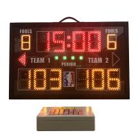 Buy cheap Aluminum Portable Electronic Scoreboard , Baseball Field Scoreboard With Carry from wholesalers