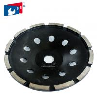 Buy cheap 180mm Angle Grinder Diamond Cup Wheel Black Color For Concrete Floor from Wholesalers