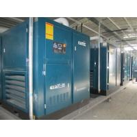 Shockproof large Silent Screw electric air compressor PLC controlled 90kW