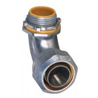 China 1 Inch Liquid Tight Angle Connector , Electrical Conduit Elbow Fittings Polished factory