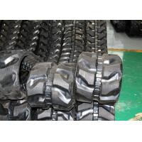 China 280 * 52.5 * 82 Black Replacement Rubber Tracks For Es25zt eurocomach factory