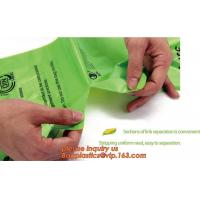 China Hot sale Compostable disposable biodegradable plastic garbage bag, Eco compostible bio degradable bags factory