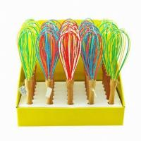 Buy cheap silicone egg beater kitchenware ,food grade silicone egg whisks from Wholesalers