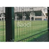 China Guard Safety Screen Anti Climb Mesh Fence Panels 8 Guage With Metal Square Post on sale