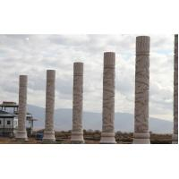 China 56pcs national stone columns for Northeast of China factory