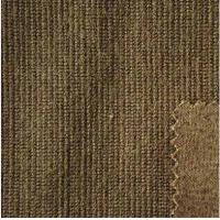 China Brown Heavy Wool Jacquard Fabric Blend For Mens Clothes 480 G / M factory