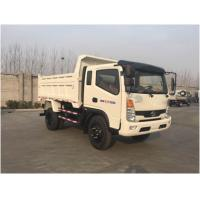 Buy cheap 10 T Payload Cargo Delivery Truck , Light Duty Tipper Truck production Projects from Wholesalers