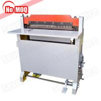 Buy cheap NO MOQ high speed heavy duty paper punch machine manufacturer print shop use hole punching and perforating machine from Wholesalers