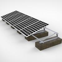 Buy cheap 60m/S Wind PV Solar Panel Frame Mounting Kit , Triangular Bracket Solar Power Roof Systems from Wholesalers