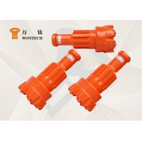 China Steel Water Conservancy Alloy Steel DTH Hammer Bits , Down The Hole Bits factory