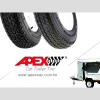 Buy cheap APEX Special Trailer Tire, Car Trailer Tyre for 13, 14, 15 inch from Wholesalers