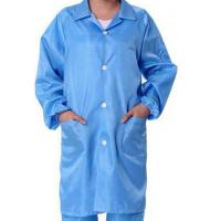 Buy cheap Safety ESD Anti Static Clean Room Garments For Optical Production Workshop from Wholesalers