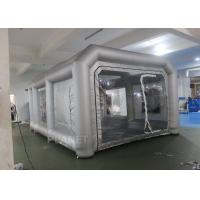 China Environmental Mini Blow Up Spray Booth For Car Cover / Automotive Paint Booth factory