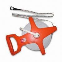 Buy cheap Measuring Tape, Made of Fiberglass, Measures 10 to 100m/330ft from Wholesalers
