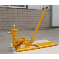 Buy cheap 0-1.0Mpa high pressure manual cement grout pump for no electricity place use from Wholesalers
