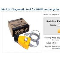 China GS-911 Diagnostic tool for BMW motorcycles on sale