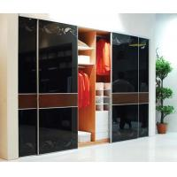 China Modern Indoor Sinoy Black Lacquered Glass Waterproof With 3mm - 6mm Thickness factory
