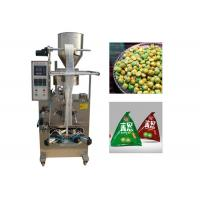 China 304 Stainless Steel Automatic Bag Packing Machine For Triangle Bag 20-30 bags/min factory