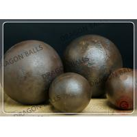 China 50mm Air Hammer Forged Grinding Balls , Forging Steel Balls For Ball Mill on sale