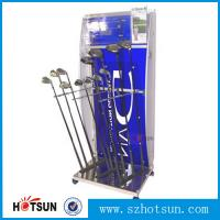 China acrylic golf club display stand supplier factory