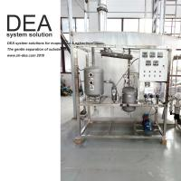 Buy cheap SS 304 Solvent Recovery Equipment Thin Film Solvent Recycling Machine UL Certification from wholesalers