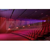 China Motion Theater Chair Cinema 3D System With Projectors / Sound System factory