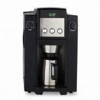 Buy cheap Bean-to-Cup Automatic Coffee Machine, American Style, Measures 33.5 x 25.2 x 40.2cm from Wholesalers